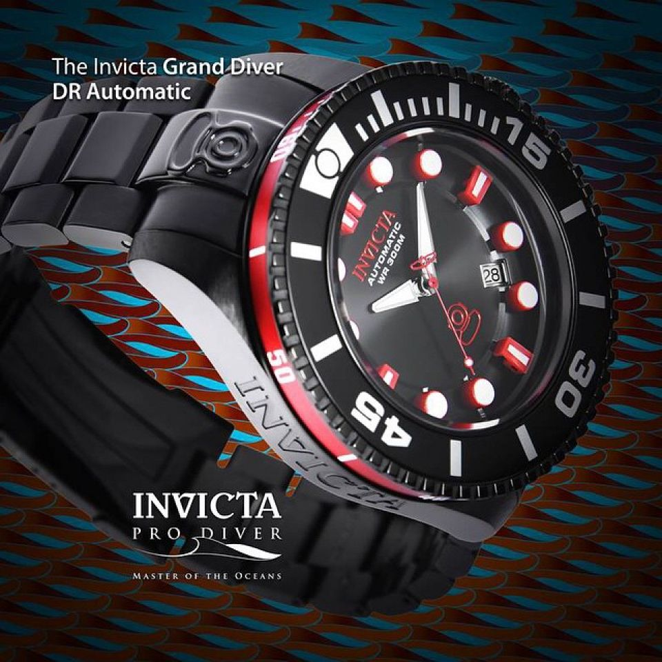 Automaat horloge Grand Diver DR - Coming soon !