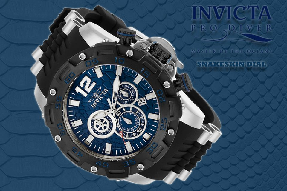 Invicta Pro Diver Snakeskin Dial
