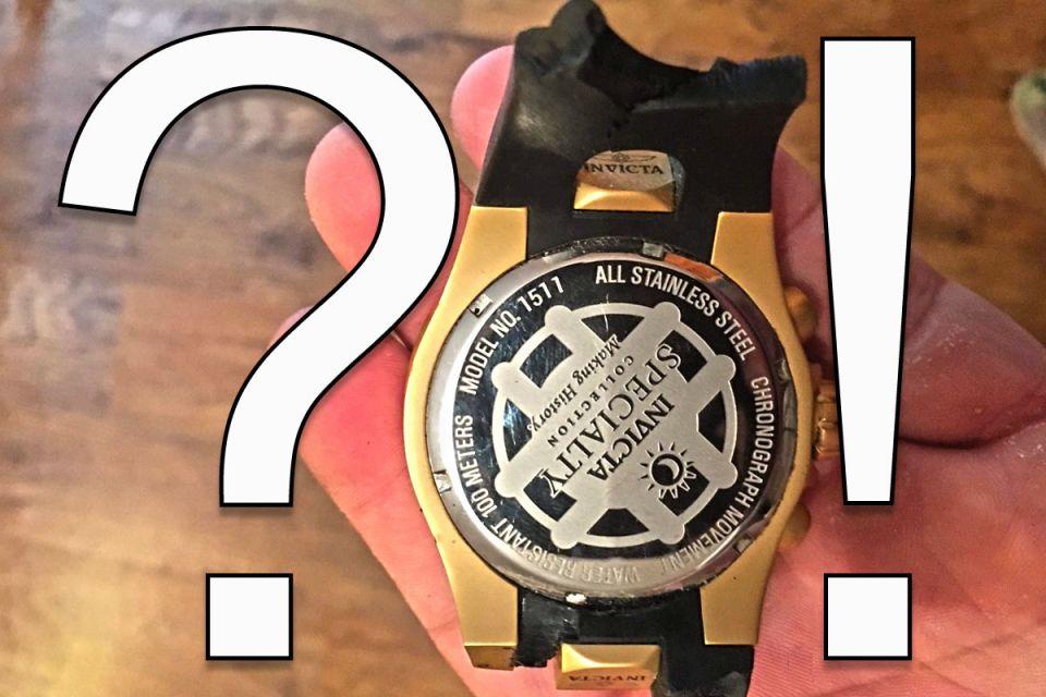 Invicta horlogeband kapot, wat nu?